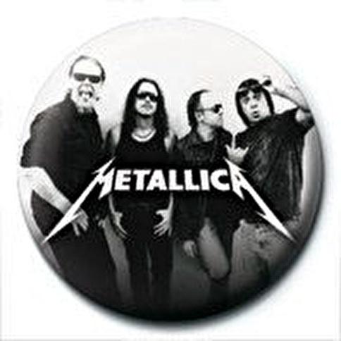 Pyramid International Rozet - Metallica - Group Renkli